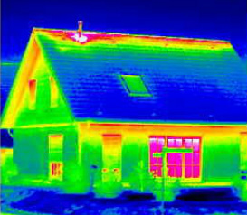 Infrared Picture of House